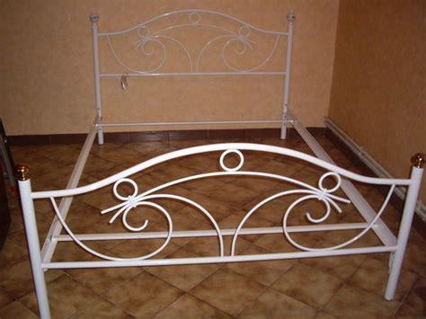 lit en fer forge blanc maison design wiblia