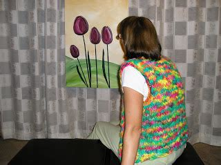sewing shoulder seams in knitting chris knits in niagara point 5 thick and thin vest