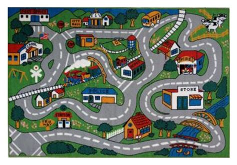 car rug road creative carpet ideas for your child s playroom