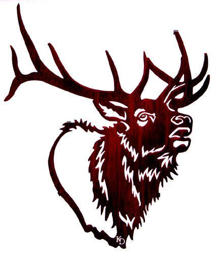 bull elk tattoo designs elk clip elk drawing pictures for pta