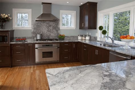 walnut kitchen cabinets granite countertops photo gallery fiddlehead interiors