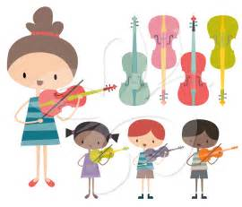 violin clip art set creative clipart collection