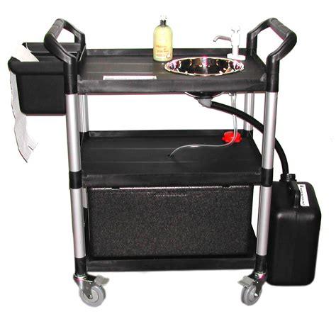 mobile wash sink unit portable handwash unit 23 lts sink mobile vphwu