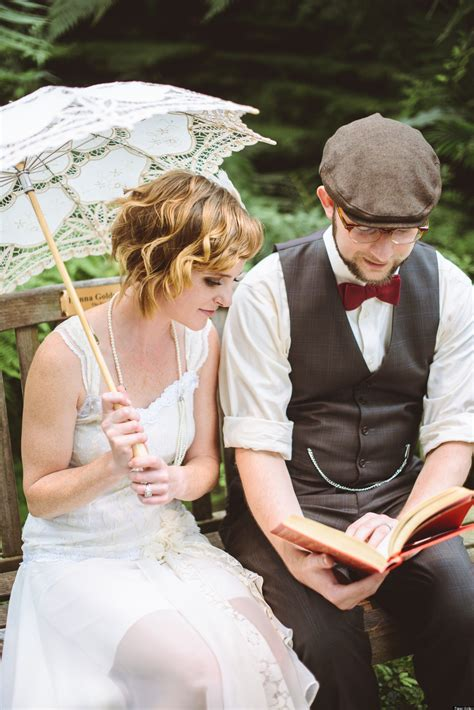 Great Wedding Pictures by Real Weddings Great Gatsby Inspired Nuptials Photos