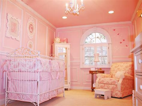 pink nursery bedroom photos hgtv