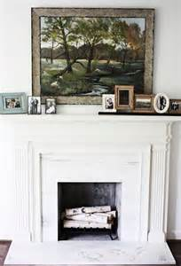 birch logs in fireplace for the home