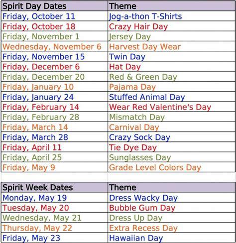 themes for college day school spirit days spirit day ideas and school spirit on