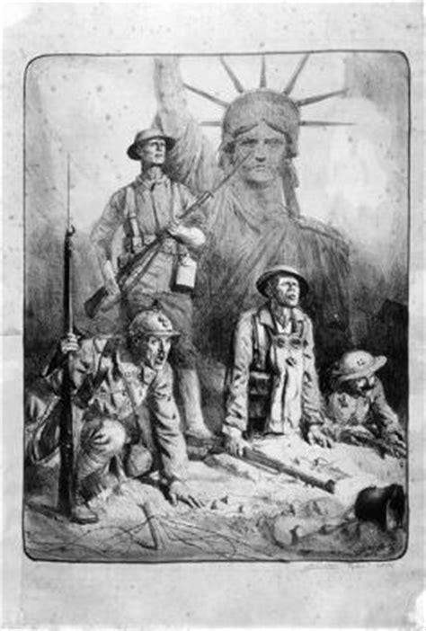 Engagement des américains à la fin de la guerre 1914-1918