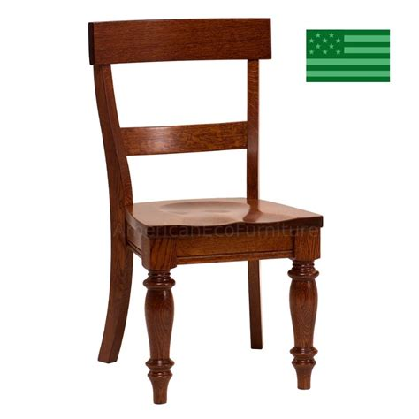 Dining Room Chairs Made In Usa Amish Solid Wood Heirloom Furniture Made In Usa Provence