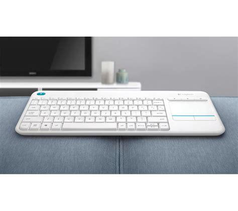 Keyboard Plus Mouse Logitech logitech k400 plus wireless keyboard white deals pc world