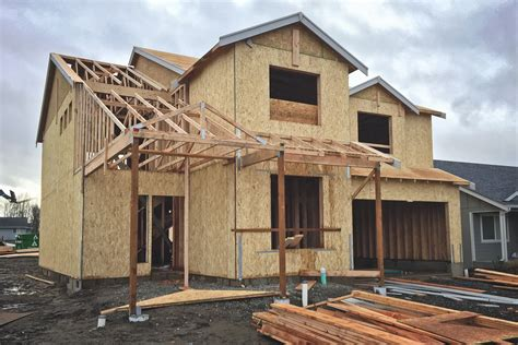 how to have a house built for you file pacific wa new house under construction 02 jpg