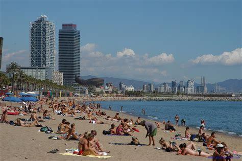 barcelona beach the topless friendly beaches in barcelona