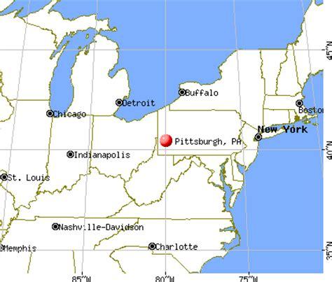 map usa pittsburgh pittsburgh pennsylvania pa profile population maps