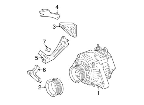 2005 Toyota Camry Parts Genuine Oem Alternator Parts For 2005 Toyota Camry Xle