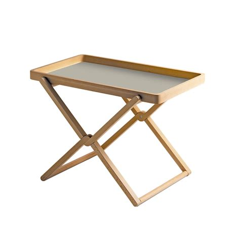 Wooden Coffee Table Tray Folding Coffee Table With Tray Beech Wood By Caon Arreda Lovethesign