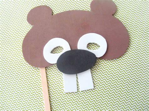 printable groundhog mask 14 groundhog day crafts for kids tip junkie