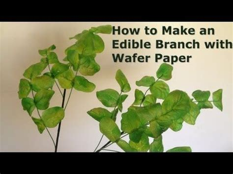 How To Make Edible Paper - 71 best wafer paper flower images on