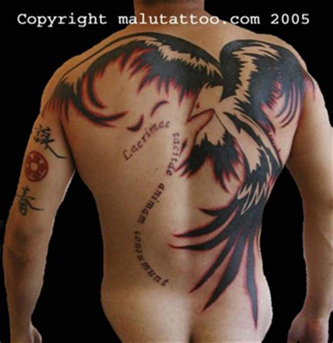 phoenix tattoo in oxford ms back tattoos and designs page 591