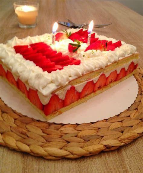 le fraisier les recettes de la cuisine de asmaa
