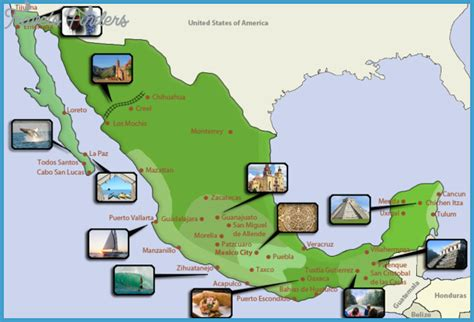 tourist map of mexico city mexico city map tourist attractions travelsfinders