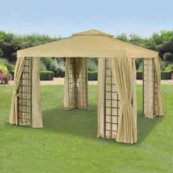 Curtains For Gazebo Beige Replacement Outer Curtains For Suntime Deluxe Gazebo