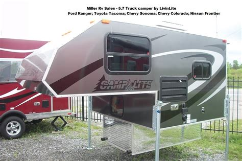 CampLite Truck Camper 5.7 Model   YouTube