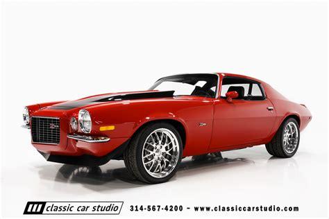 Raket Rs Snd 70 1970 chevrolet camaro pro touring classic car studio