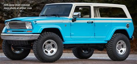 jeep wagoneer concept moab 2015 jeep concepts from the wagoneer like chief to