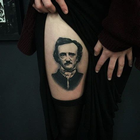 edgar allan poe tattoo best 25 poe ideas on