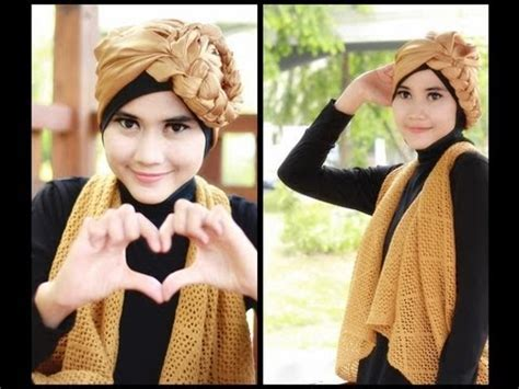 youtube tutorial turban pesta modern hijab tutorial turban square paris for party and