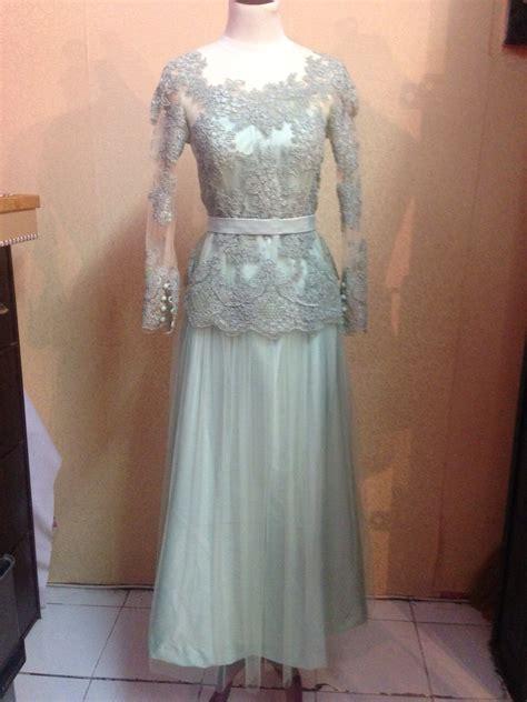 Dress Lace Warna dress lace abu abu cantik