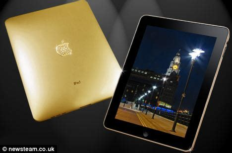 home design gold ipad the solid gold ipad that will set you back 163 130 000