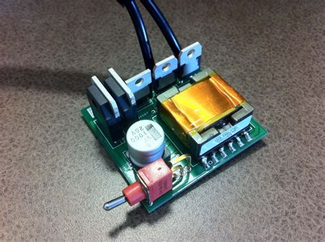 capacitor 12v battery charger 1200w flyback driven capacitor charger polakium engineering