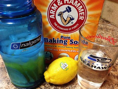 Detox Baking Soda Lemon by Health Fortifying Drinks Baking Soda Tonic Water And