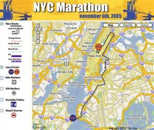 New York Marathon Course Map by 56001448 0c9d807524 Jpg