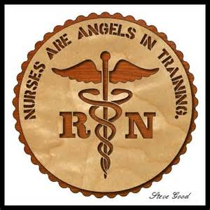 Workshop nurses are angels in training scroll saw pattern pattern