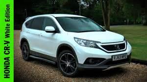 White Honda Crv Honda Cr V White Edition Review