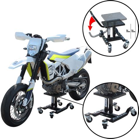 motocross bike stand motocross bike lift stand on wheels for road dirt
