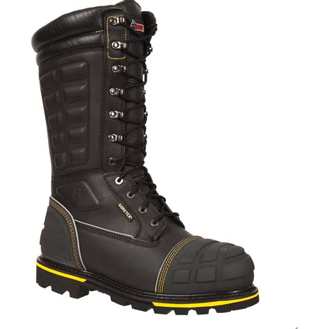 miner shoes rocky puncture resistant tex met guard boot ham