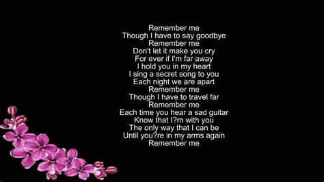coco song remember me remember me d 250 o miguel lyrics youtube