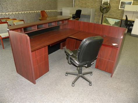 used reception desk used reception desk receptionist desk reception station