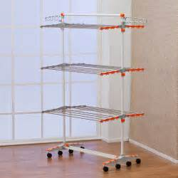 badoogi foldable compact storage clothes drying rack