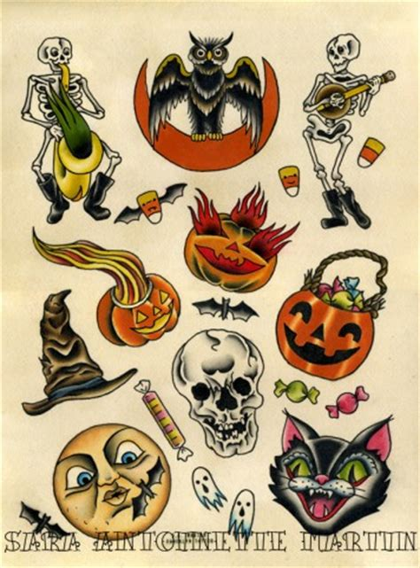 tattoo old school halloween 3 spots to treat yourself to 31 halloween tattoos