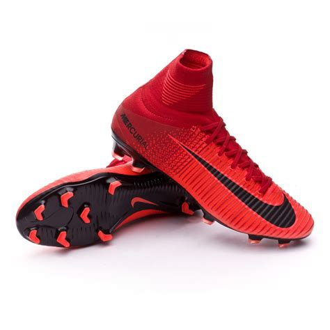 Nike Mercurial Superfly Fg Bright Crimson Flyknit boot nike mercurial superfly v acc fg