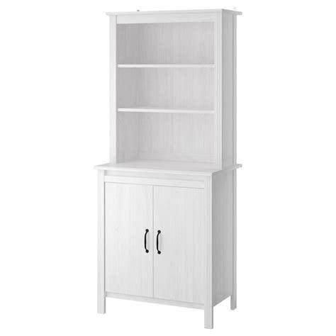 sideboard 60 cm tief brusali high cabinet with door white 80x190 cm ikea