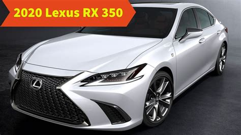 When Will The 2020 Lexus Rx Come Out by 2020 Lexus Rx 350 Redesign Review Specs Price