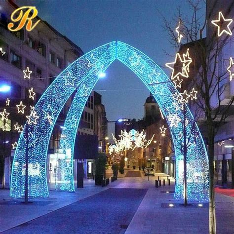 led light arches outdoor lighted led arch decorations buy