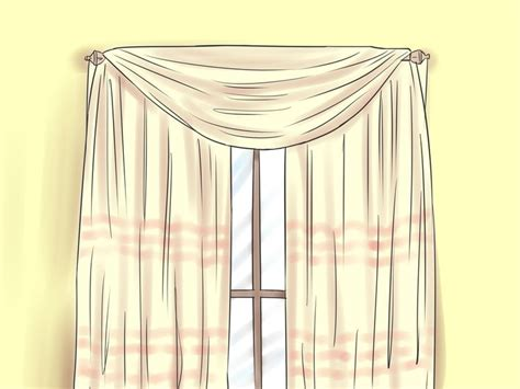 how to hang a swag scarf curtain 25 best ideas about scarf valance on pinterest curtain