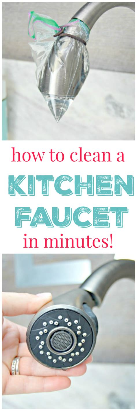 clean kitchen faucet how to get your kitchen faucet clean 4