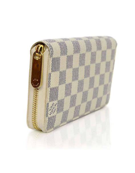 Louis Vuitton Dust Bag louis vuitton damier azur zippy wallet with box and dust bag for sale at 1stdibs